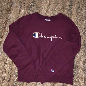 Maroon/ Purple Champion Sweatshirt